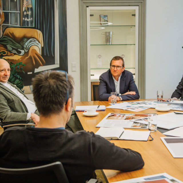 Vorstand Zürcher Kantonalbank Österreich AG Redaktionssitzung