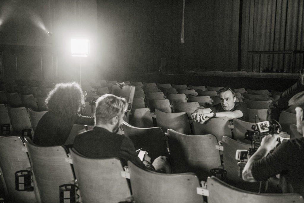 Behind the Scenes and Portraits of the Film Jedermann auf Reisen by Siegrid Cain 2021; Featuring Philipp Hochmair, Omar Khir Alanam, Wolfgang Tonninger, Stadtsaal Wien, Schloß Leopoldskron, Sissy Sex und Semmelknödel, Jedermann Reloaded, Kurt Razelli, Almblitz, ORF3